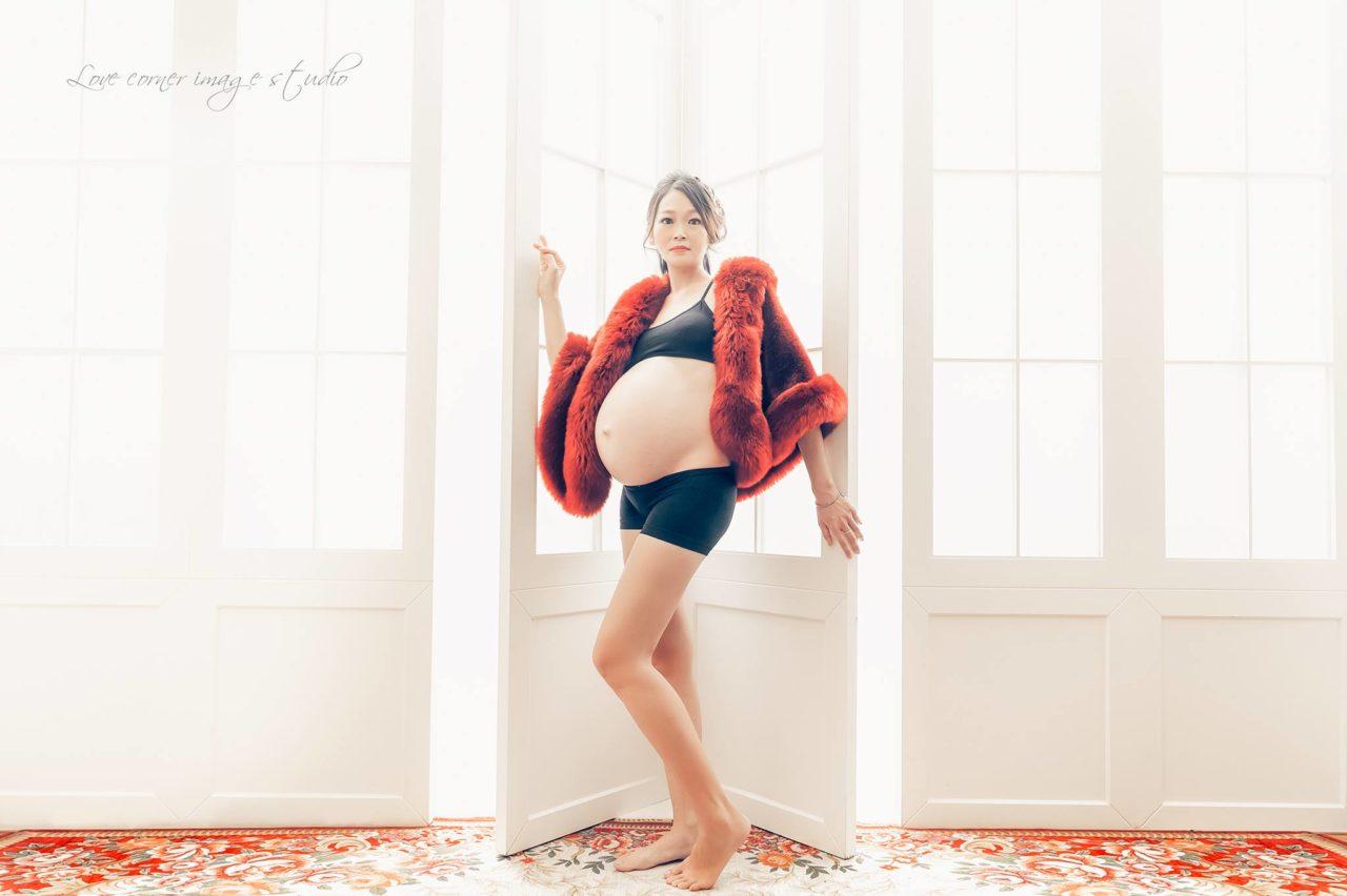 溫馨互動孕婦寫真