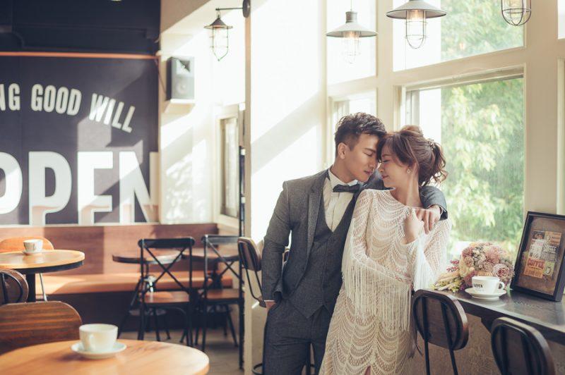 [台南自助婚紗] Jaren&Connie|咖啡廳的浪漫邂逅