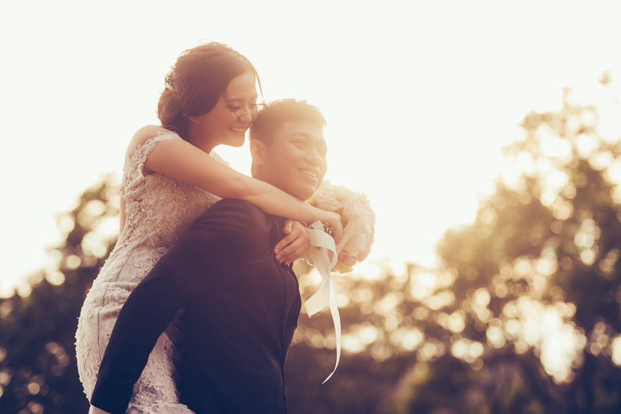 [台南自助婚紗]H&C/inblossom手工訂製婚紗