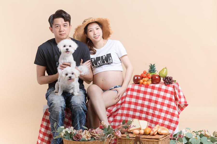 陪伴孕期的一家人|孕婦寫真